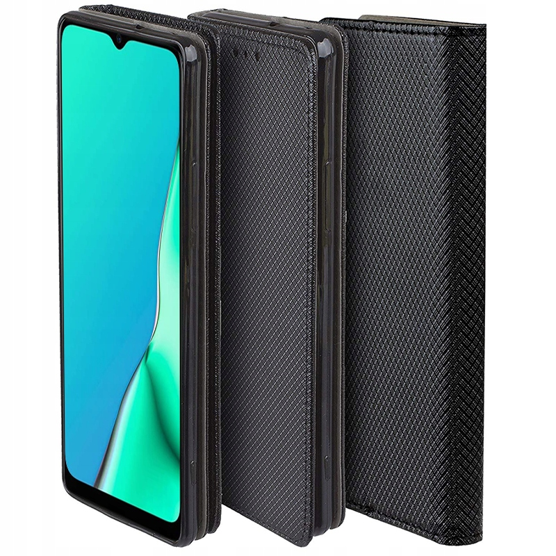 Etui do Oppo A9 2020 Case Magnet Portfel + Szkło Dedykowany model Oppo A9 2020