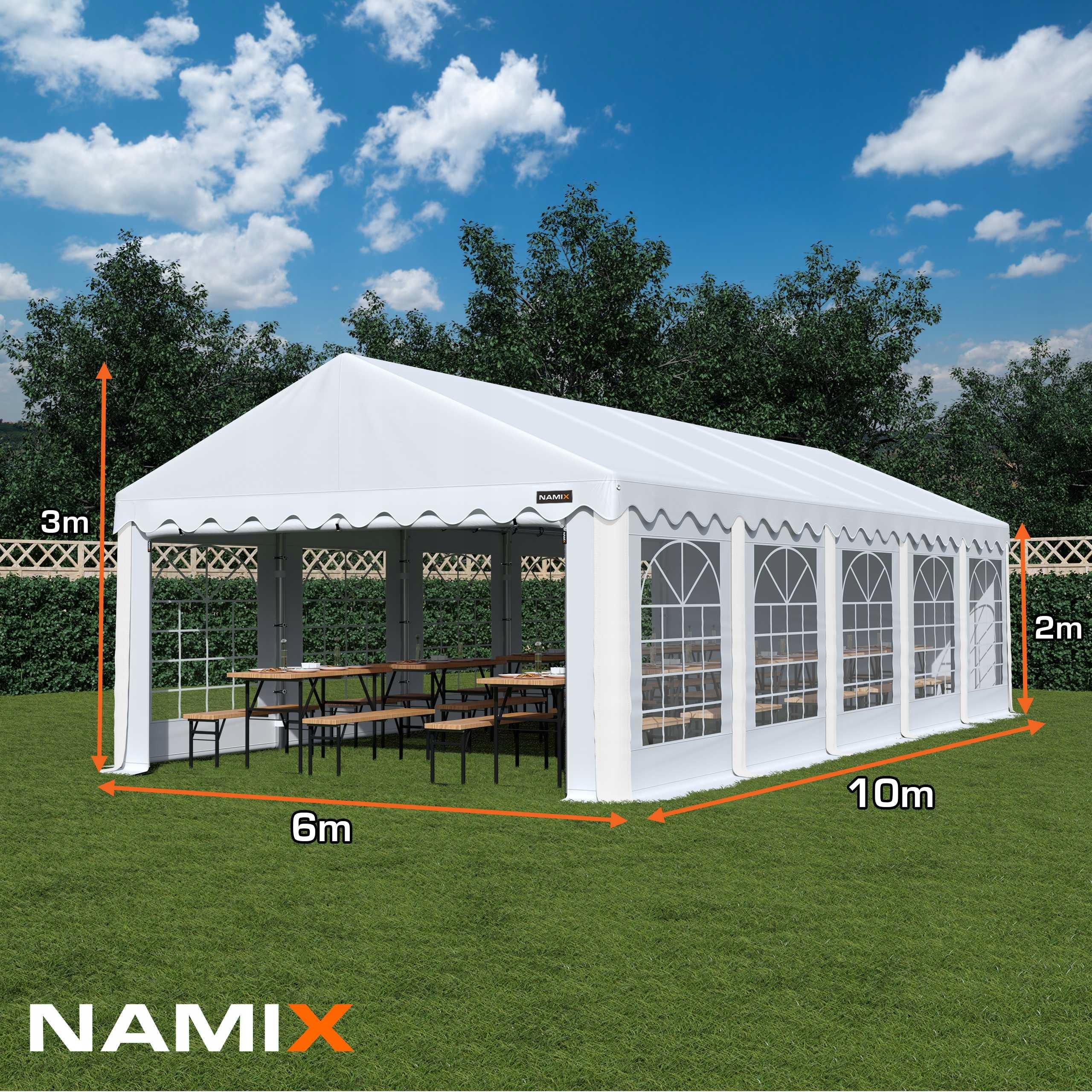 ZÁKLADNÝ STAN 6x10 na záhradnú párty RÔZNE FARBY Výrobca NAMIX