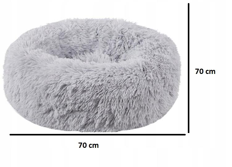 LEGOWISKO WŁOCHATE DLA PSA KOTA rozmiar L 70cm Rodzaj poduszka