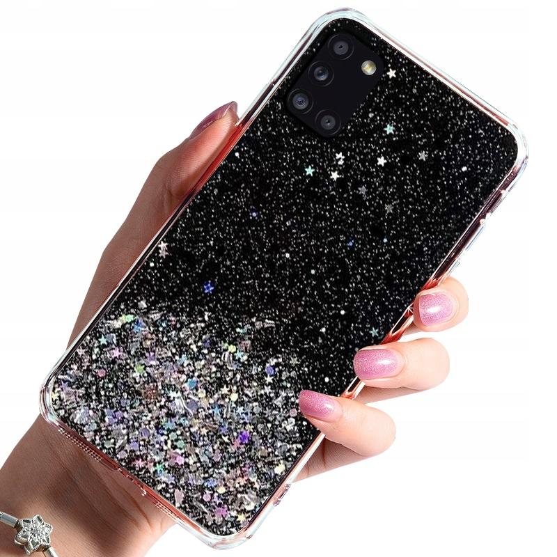 Etui do Samsung Galaxy A31 CASE BROKAT + SZKŁO 9H