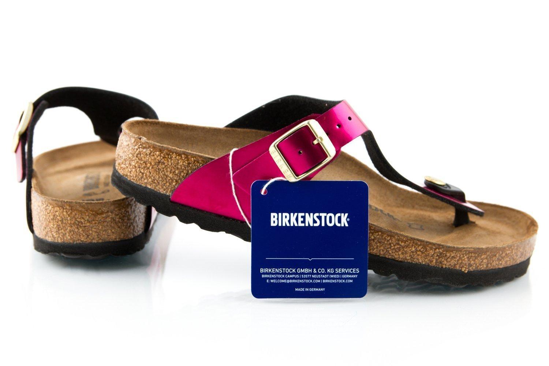 Klapki Birkenstock Gizeh Bs damskie na lato r. 35