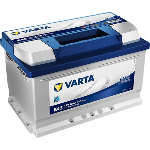 Varta Blue E43 12V 72Ah 680A аккумулятор