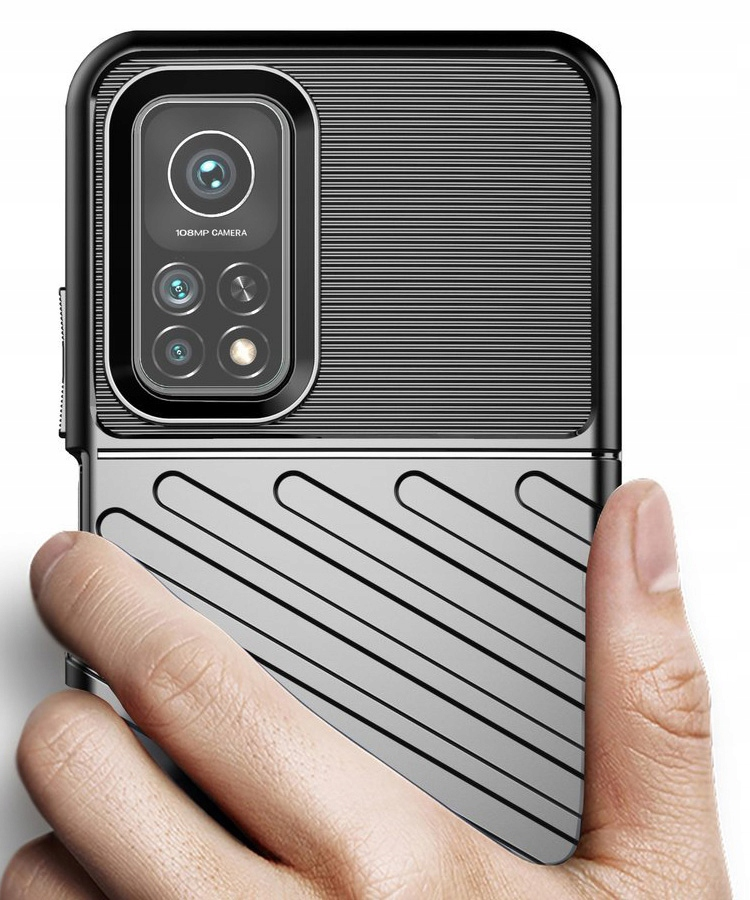 Etui do Xiaomi Mi 10T Pancerne Case + Szkło 9H Dedykowany model Xiaomi Mi 10T