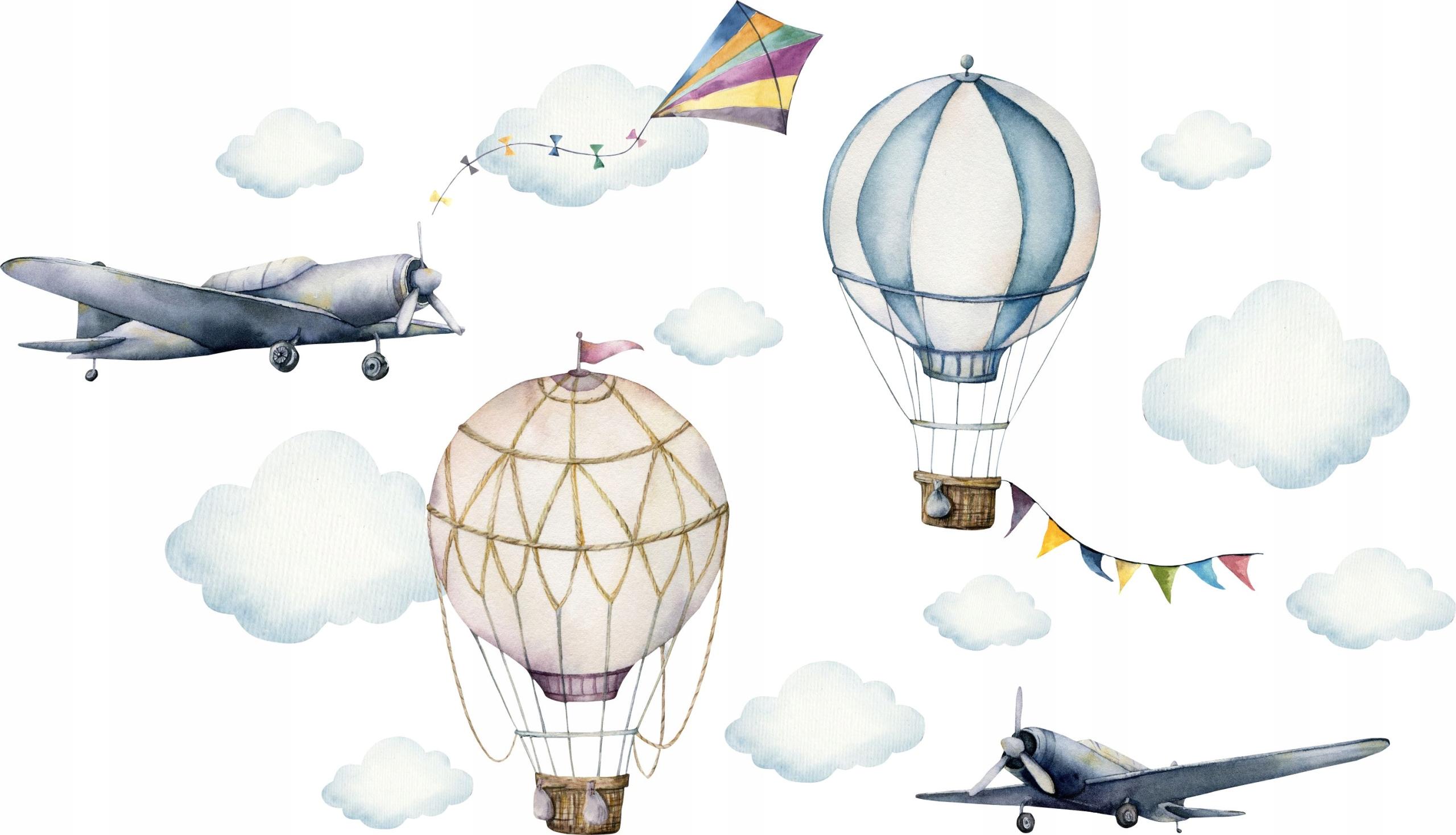 Наклейки на стену детские Balloons D316 100см