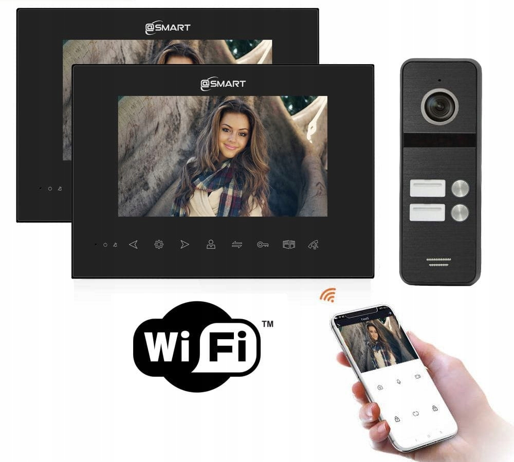 Wideodomofon 2-rodzinny Smart IP M2B-S2 Aplikacja