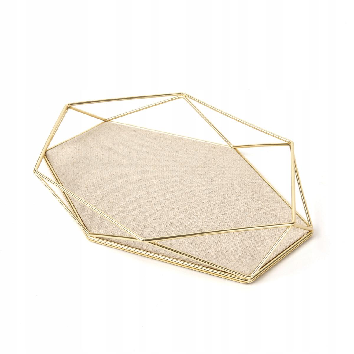 Декоративный поднос для золотых украшений