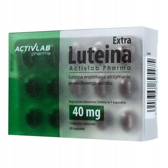 LUTEINA EXTRA Mocna dawka 40 mg zdrowe oczy