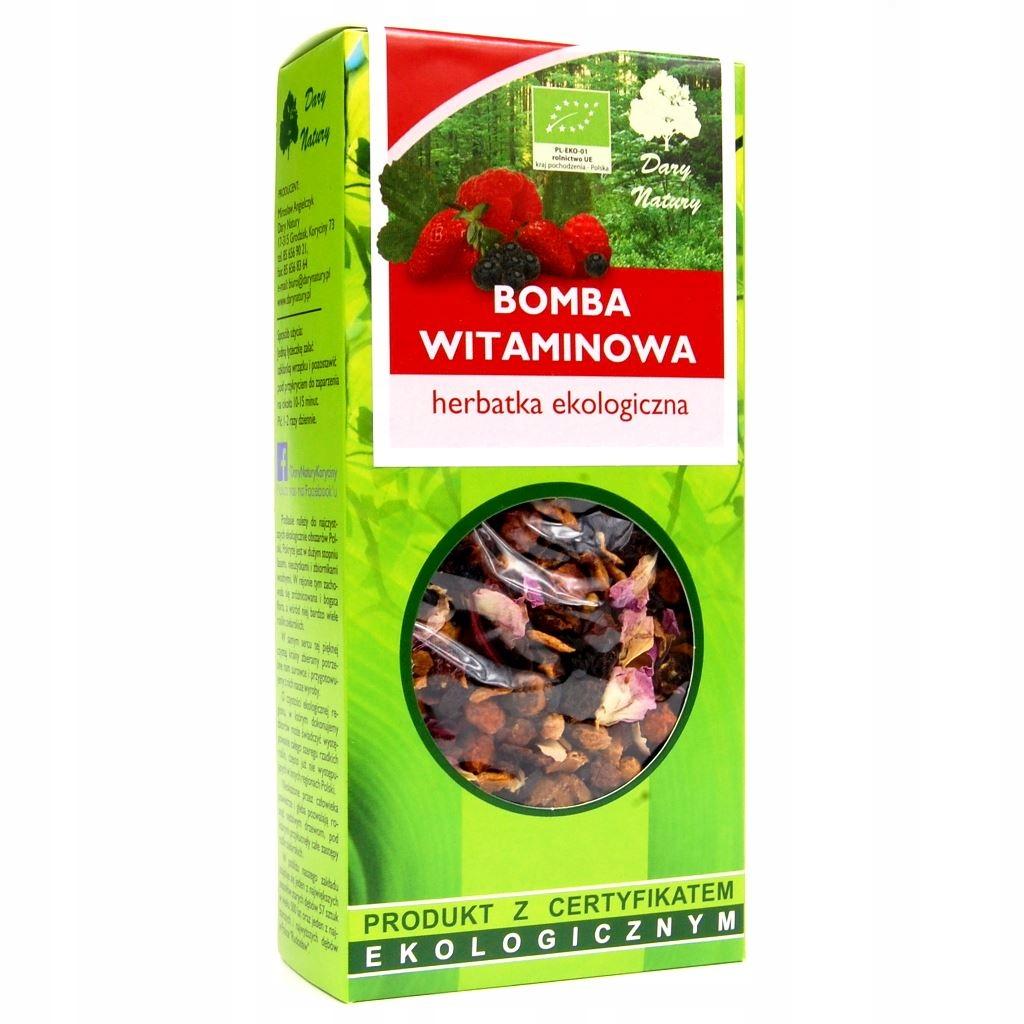 Чай Vitamin Bomb Eco 100g Dary Natury