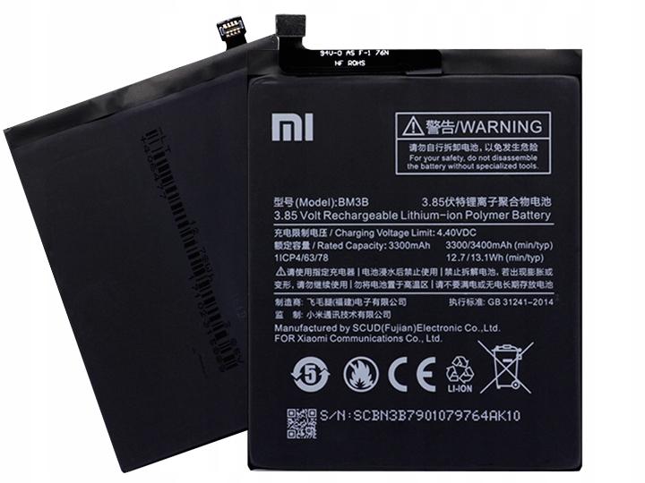Oryginalna Bateria Xiaomi BM3B Xiaomi Mi Mix 2 2s