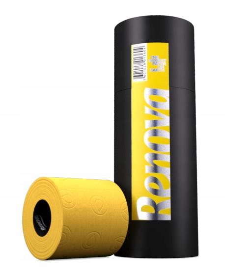 Туалетная бумага Renova Tube Yellow 3 шт
