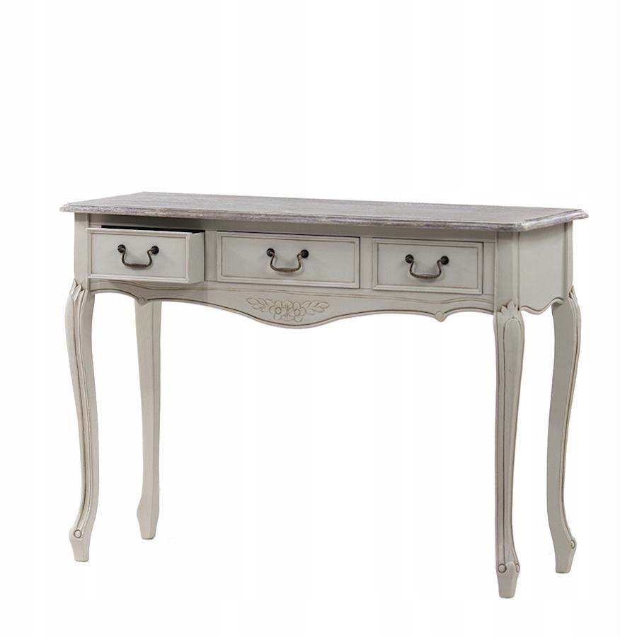 Широкий стол в провансальском стиле, резной оригинал