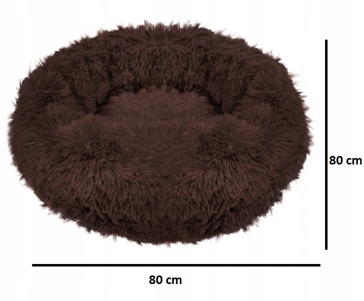 LEGOWISKO WŁOCHATE DLA PSA KOTA rozmiar XL 80cm Rodzaj poduszka