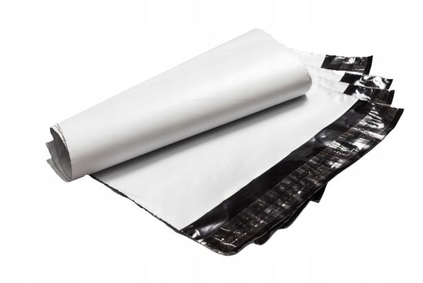 Foliopaki foliopak kurierskie, B4 260x350 50 szt Format B4 (250 x 353 mm)