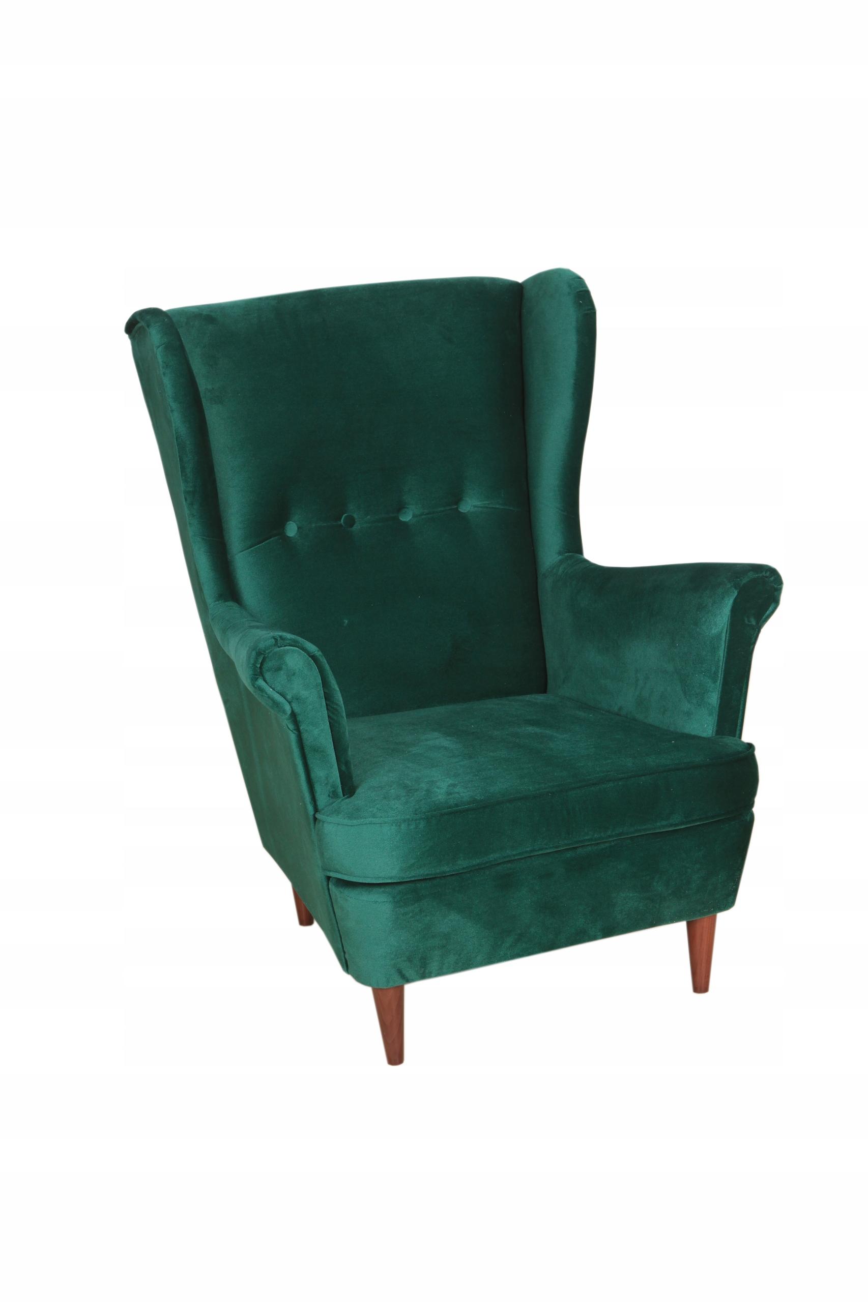Кресло USZAK MOON, скандинавский стиль FABRIC KRONOS