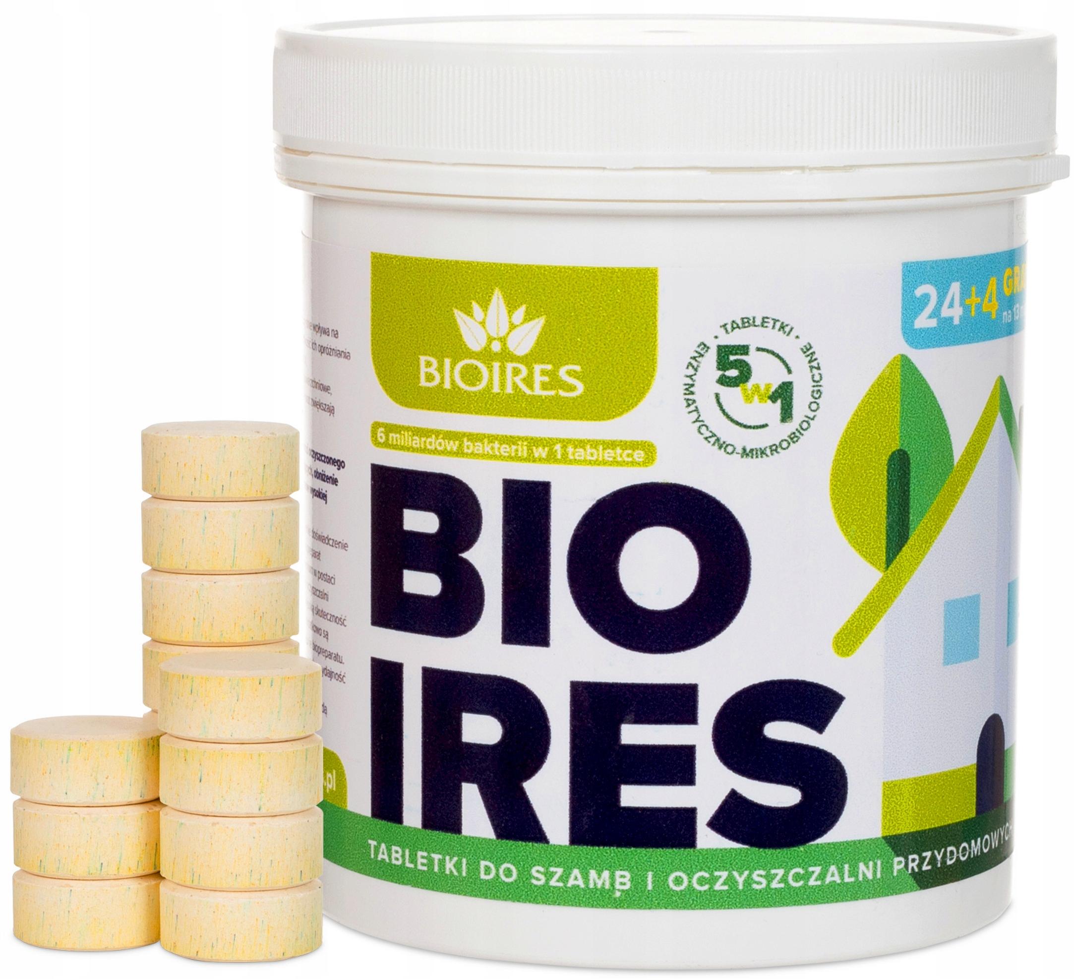 Таблетки от бактерий 5-в-1 для септика и очистных сооружений РК