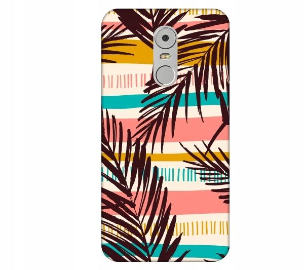 Etui Case Lenovo K6 Note Liscie tropical