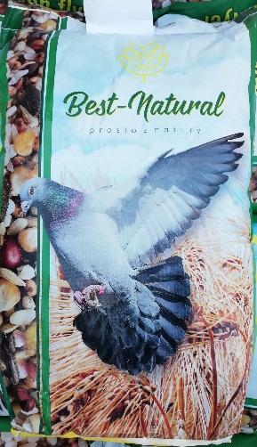 Универсальный корм для голубей U + BEST NATURAL 20 кг