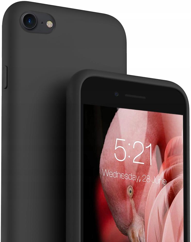 Etui do iPhone SE 2020 Case Silicone + Szkło 9H