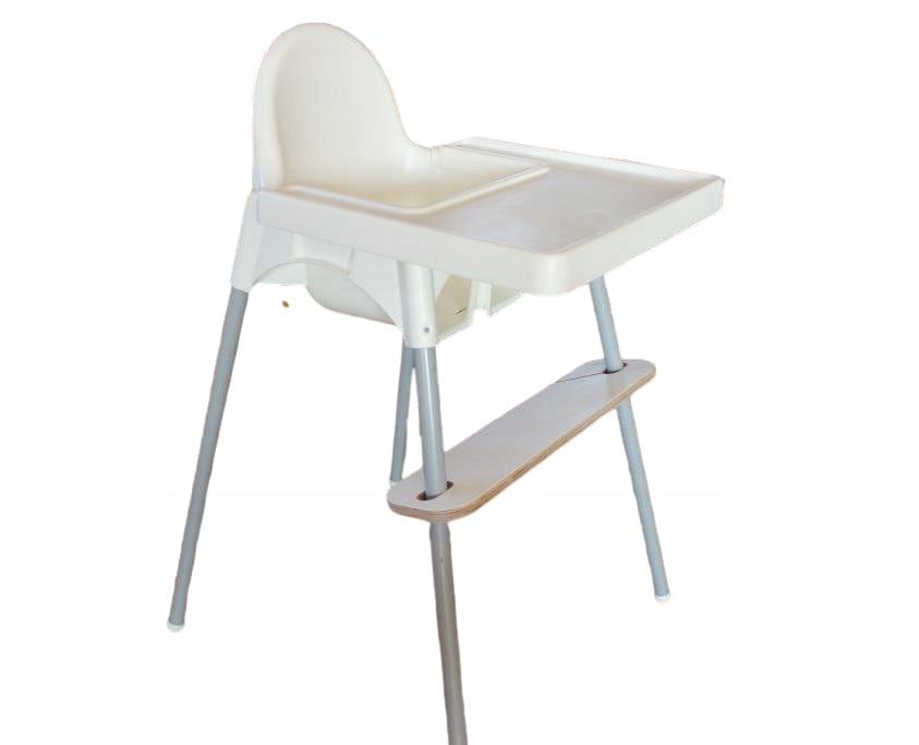 Стульчик для кормления IKEA Antilop + ПОДСТАВКА для ног + ЛОТОК + РЕМНИ