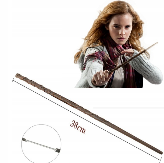 Item WAND HERMIONE A BIG METAL COLLECTION HARRY POTTER