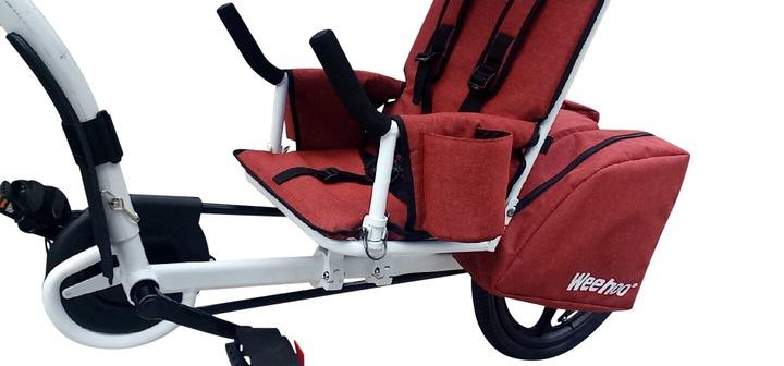 Przyczepka rowerowa dla 1 dziecka Weehoo Thrill EAN 0730699390778