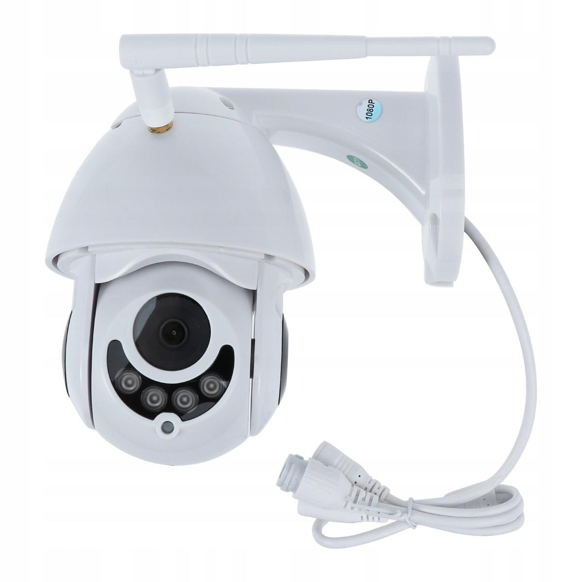 Wodoodporna bezprzewodowa kamera Ip Wifi 1080P Bez