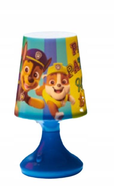 Синяя светодиодная лампа Paw Patrol