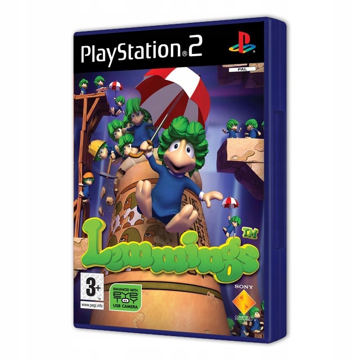 LEMMINGS NOVÉ PS2