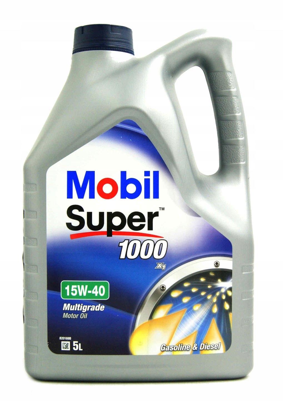 OLEJ MOBIL SUPER 1000 X1 15W40 5L