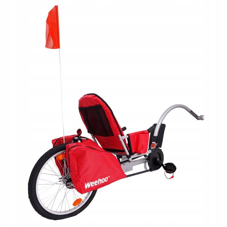 """Przyczepka rowerowa dla 1 dziecka Weehoo Igo Turbo Rozmiar koła ("""") 20"""