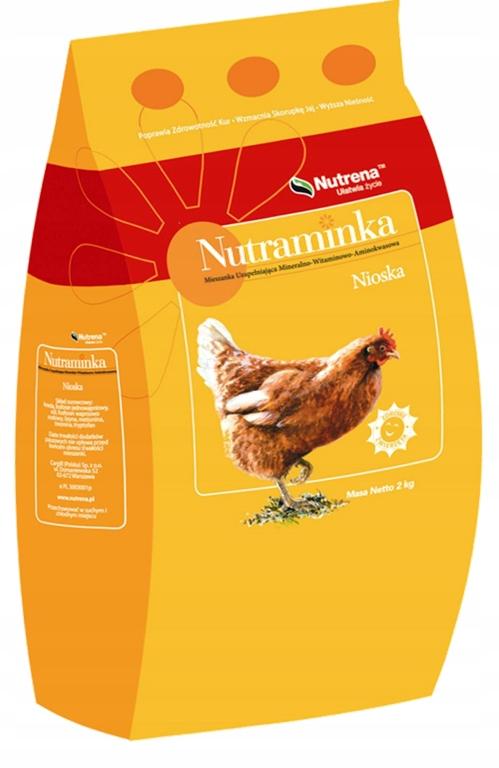 Витамины для кур-несушек в корм нутрамин 2 кг