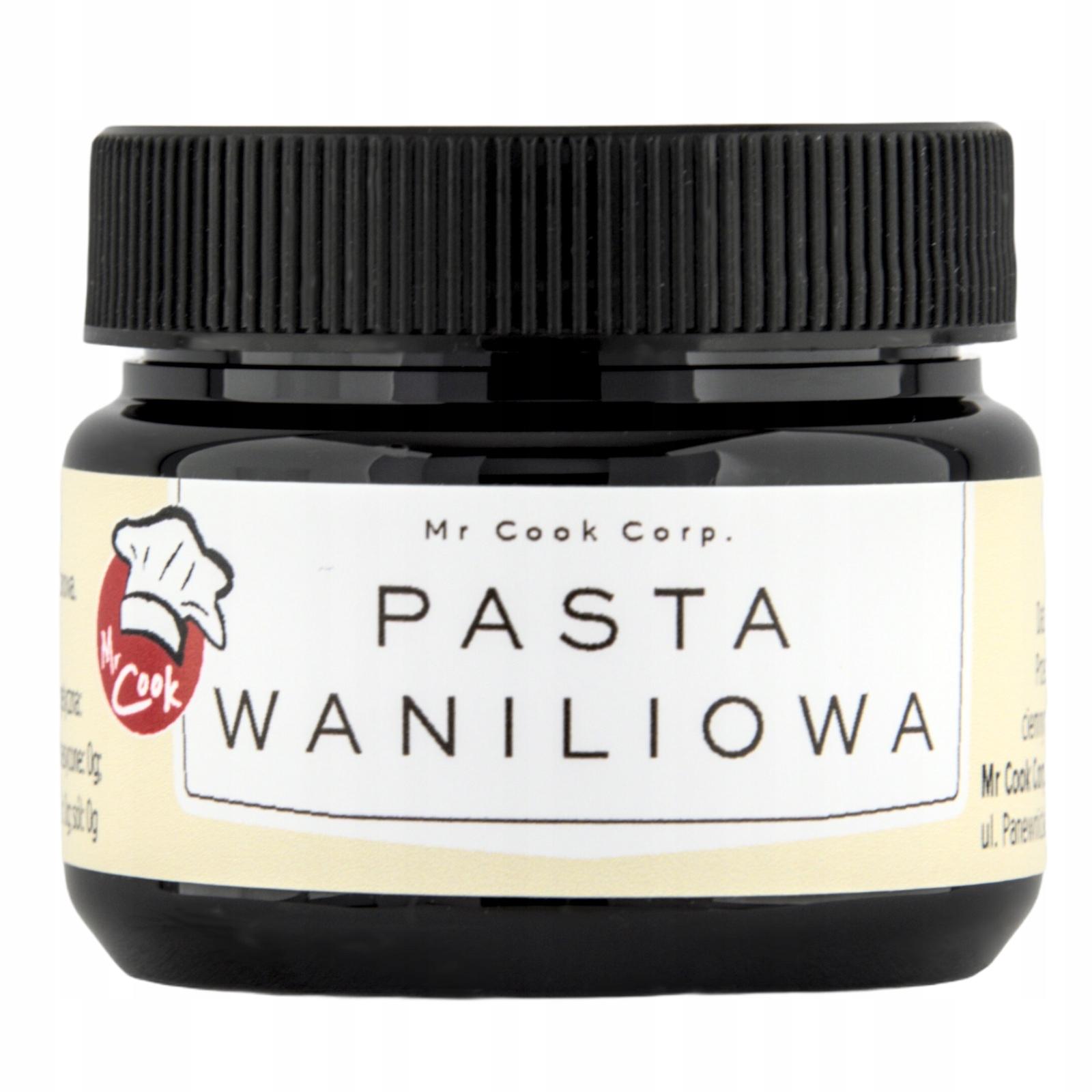 Pasta Wanilia Bourbon 60g - Ekstrakt wanilii 40%