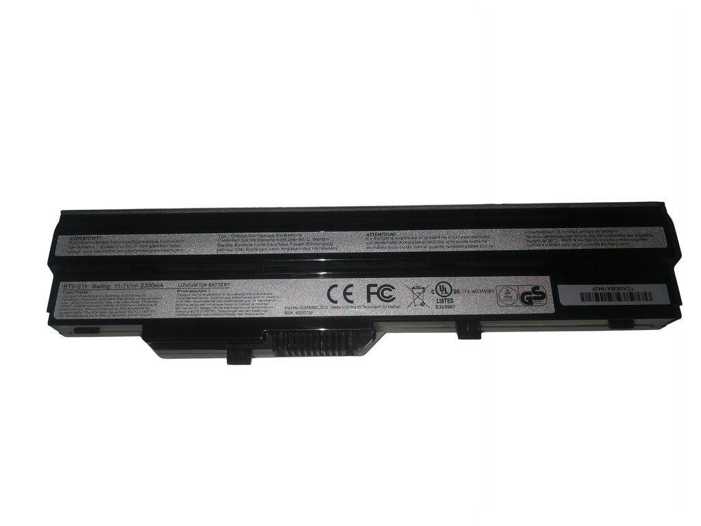 Купить Оригинальный аккумулятор MSI Medion BTY-S11 40025611 на Otpravka - цены и фото - доставка из Польши и стран Европы в Украину.