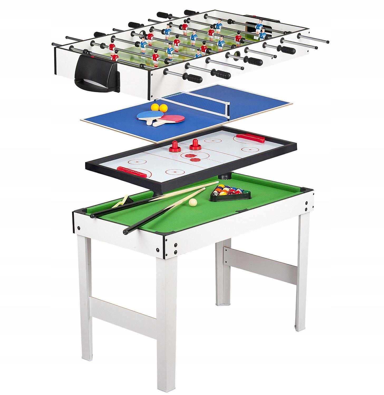 Multi 4in1 игровой стол Foosball Бильярд Теннис Хо