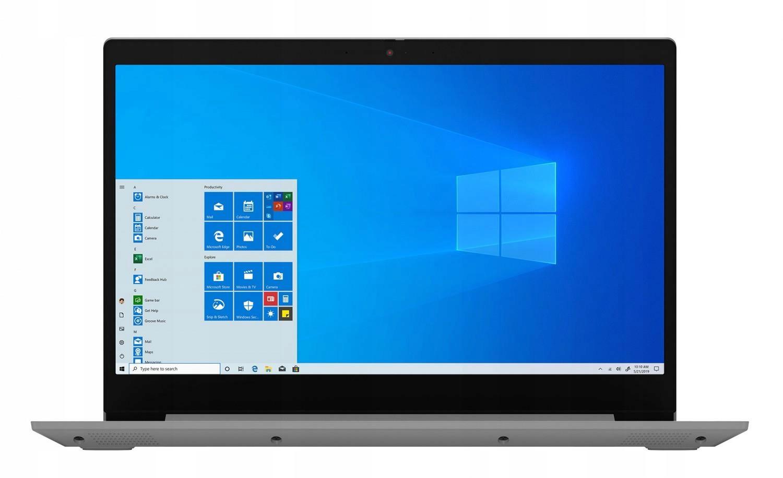 Laptop LENOVO RYZEN 5 3500U 8GB 256GB SSD 15.6 W10 EAN 0194778167987