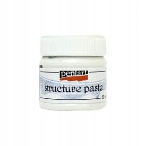 паста структурная - Pentart - белая , 50 мл