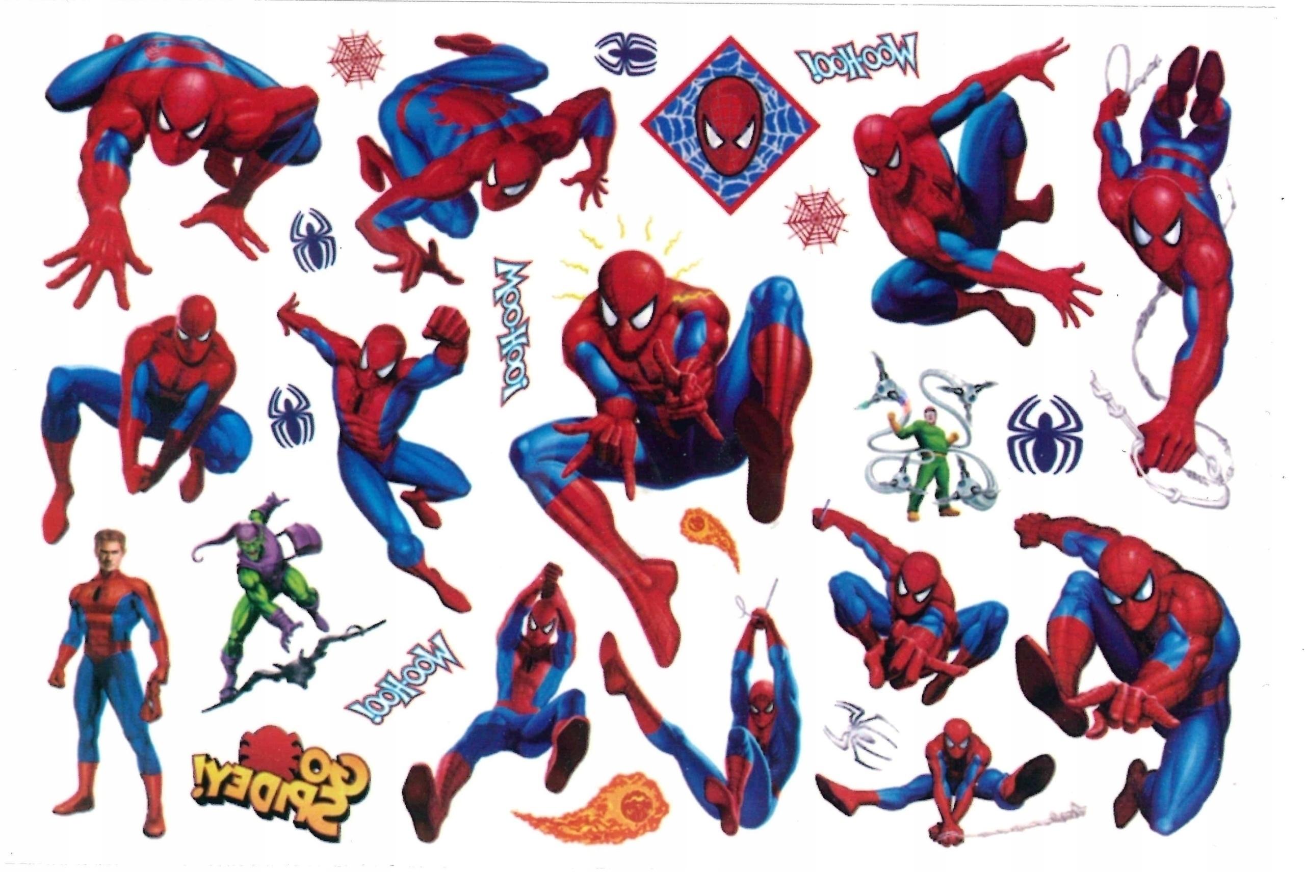 Tatuaż zmywalny dla dzieci SPIDER MAN CG189