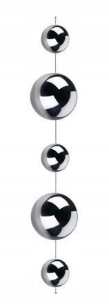 Стальные шары 100 см гламурная цепочка