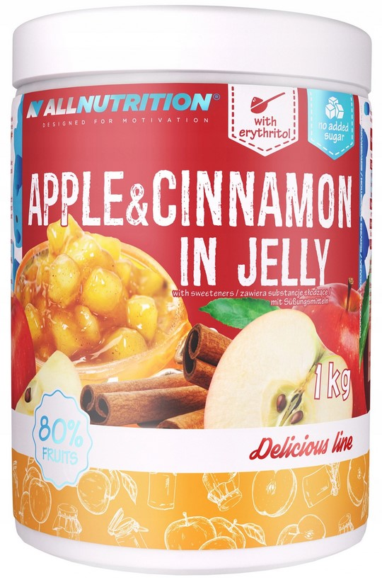 Allnutrition APPLE CINNAMON IN JELLY 1кг BEZ сахара