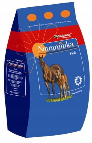 Витамины и минералы для лошадей Нутраминка лошадь 2кг