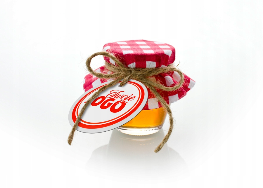 50 ks Miniaplikácia RETRO Christmas Honey Company s LOGOM