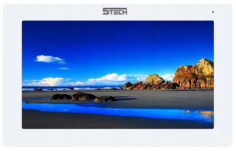 Wideodomofon Full HD 7' Ekran Dotykowy WiFi 5TECH Kamera w panelu zewnętrznym Bez regulacji