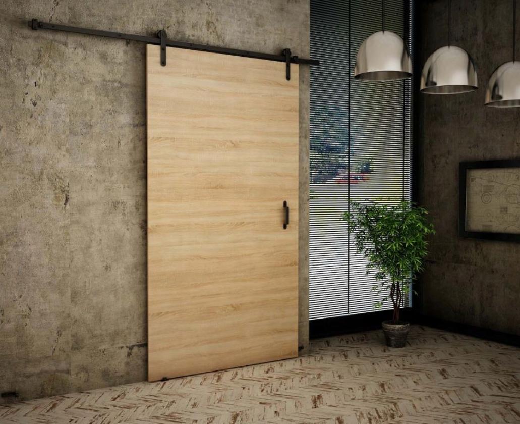 Nástenné posuvné dvere Retro Style RT10