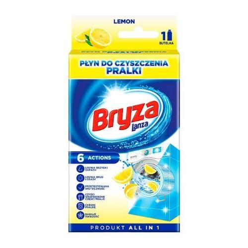 Бриз Lanza средство для очистки стиральной машины Lemon 250 мл