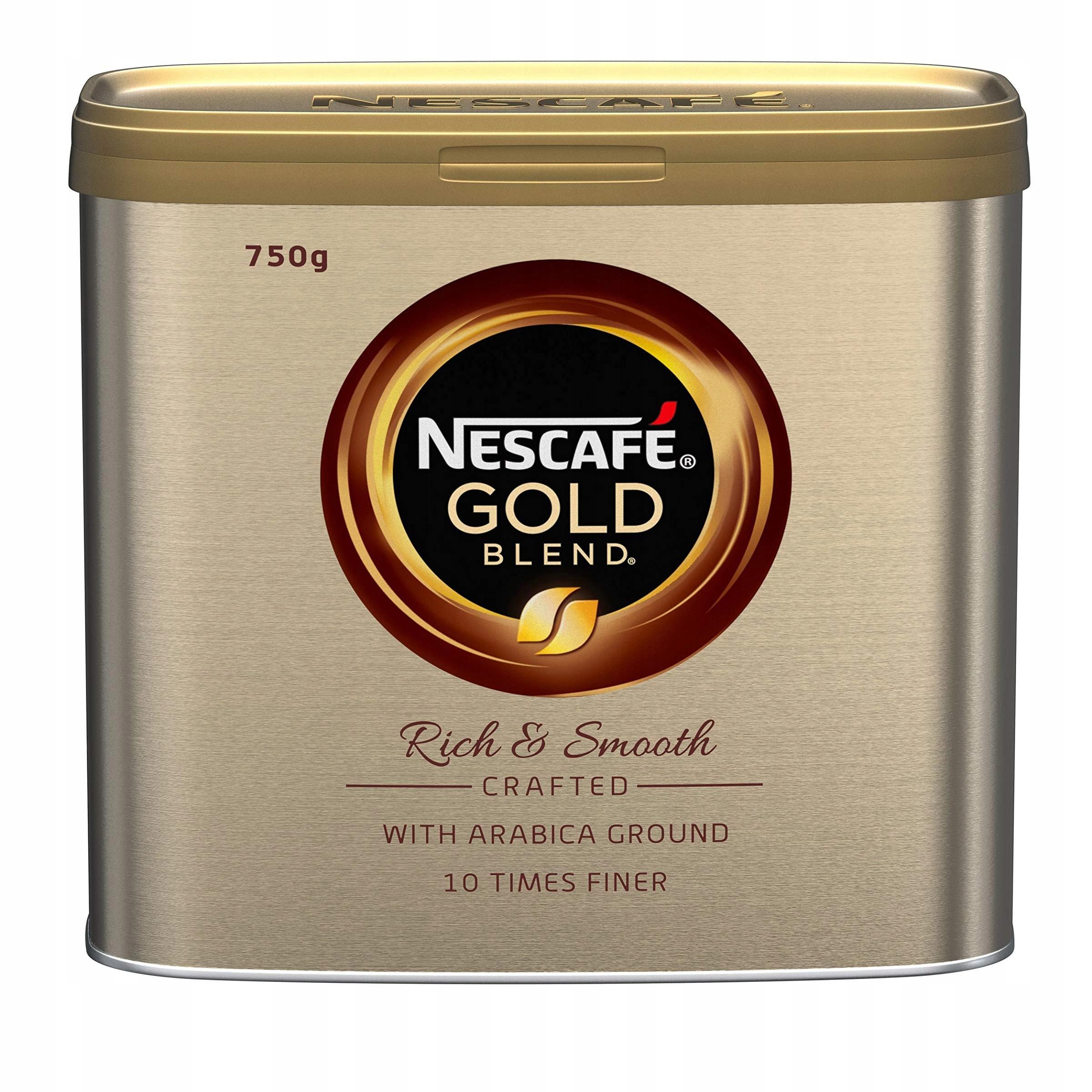 Nescafé Gold Zmes Naruralny Zloženie 750 g