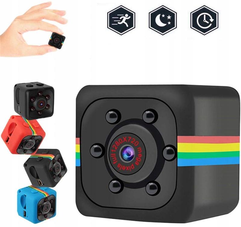 FULL HD mini webcam kube + utvidelse Merket annerledes
