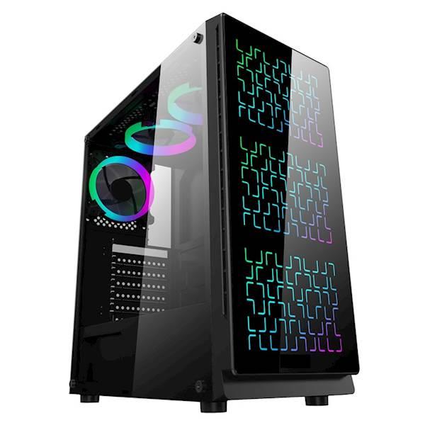 OBUDOWA Gamer ELITE BPG2 HARTOWANE SZKŁO USB 3.0