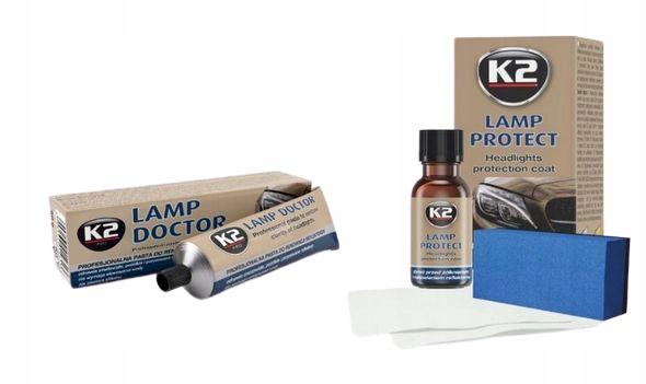 RENOWACJA REFLEKTORÓW LAMP K2 LAMP DOCTOR +PROTECT