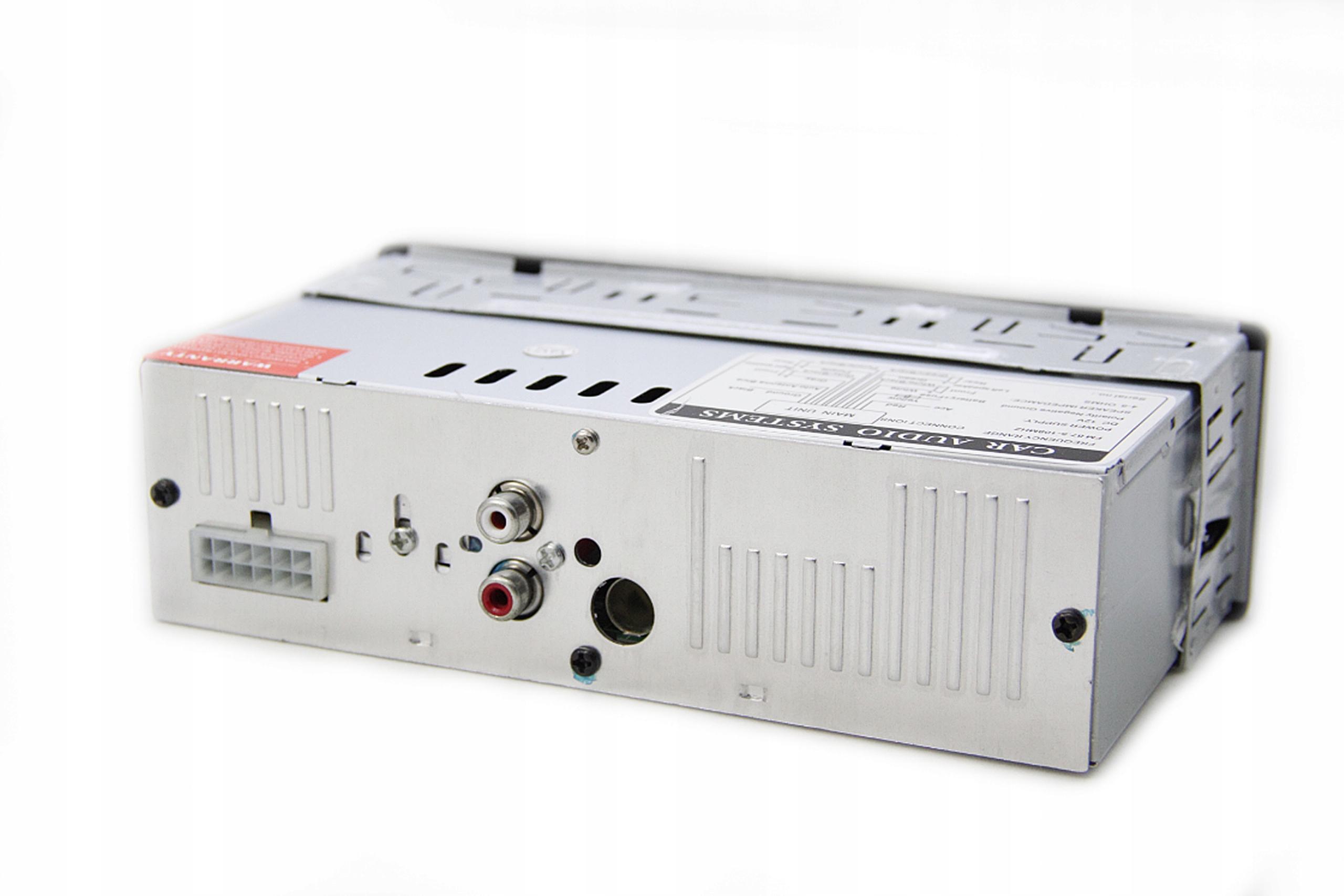 RADIO SAMOCHODOWE SD USB FM MP3 AUX + PILOT Model CDX-6263E
