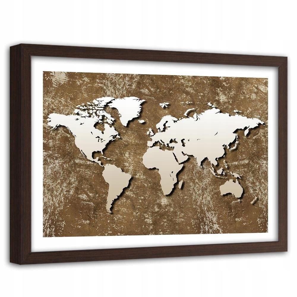 Obraz na rameno Staré retro mape sveta 60x40